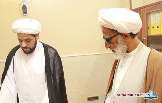 زيارة سماحة العلامة الشيخ محمد صالح الربيعي (حفظه الله)